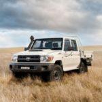 5 gwiazdek za bezpieczeństwo dla Toyoty Land Cruiser 70